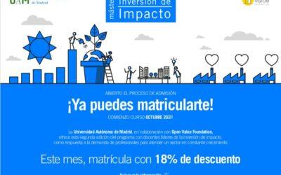Cómo entienden los alumnos el Máster en Inversión de Impacto