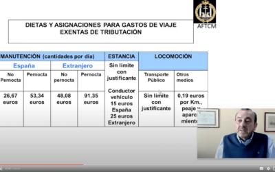 Ahorra impuestos en la Declaración de la Renta 2020. Conferencia de José Antonio Almoguera.