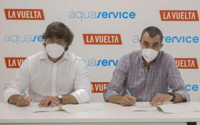 Aquaservice convierte La Vuelta 21 en su edición más sostenible y circular de su historia