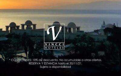"""""""¡GRACIAS!""""  El mensaje de VINCCI HOTELES en el DÍA MUNDIAL DEL TURISMO"""