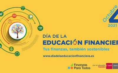 Tus finanzas, también sostenibles. Día de la Educación Financiera