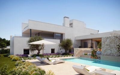 OD REAL ESTATE culmina la construcción de su exclusivo residencial THE WHITE ANGEL en la privilegiada zona de CALA COMTE (IBIZA)