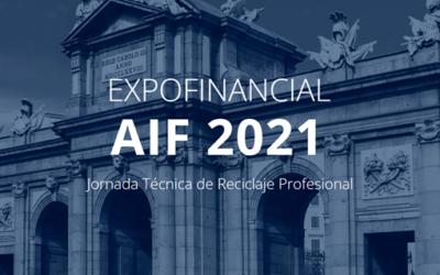 #ExpoAif21!! Últimas novedades financieras y de fomento empresarial