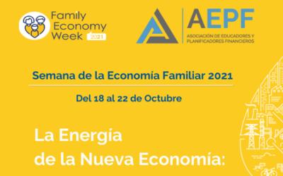 Del 18 al 22 de octubre celebramos la #FamilyEconomyWeek